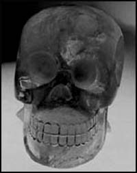 """Le crâne de cristal dit """"Mayan"""""""