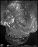 La crâne du reliquaire