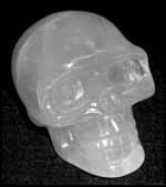 Le crâne de cristal rose