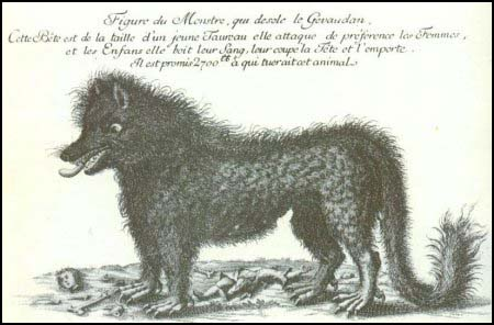 The beast of Gevaudan