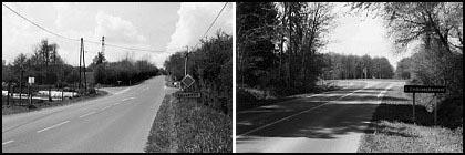 La route de la dame blanche de Balleroy