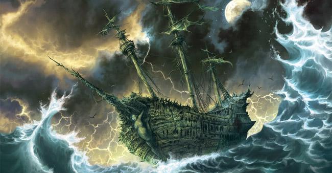 Vaisseaux fantômes et navires hantés Navire-fantome