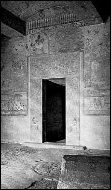 Un tombeau profané de Beni Hassan